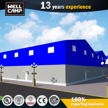 Chinese Cheap Modular Light Gauge Steel Concrete Warehouse Building Plans