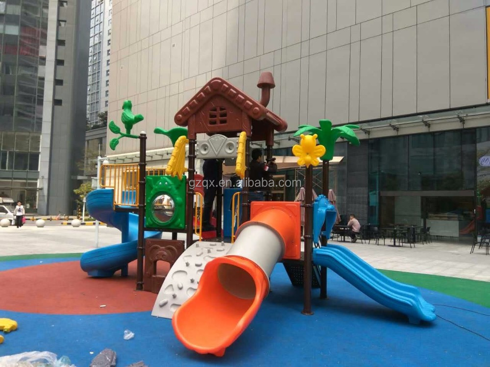 Best selling outdoor kids play equipment outdoor playground price QX-018B