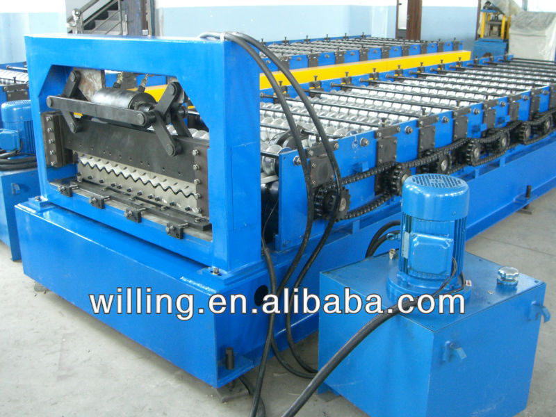 used steel profile roll forming line
