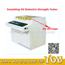HZJQ Series Automatic Six Oil Cup Structure Transformer CT PT Dielectric Strength OilTesting Machine