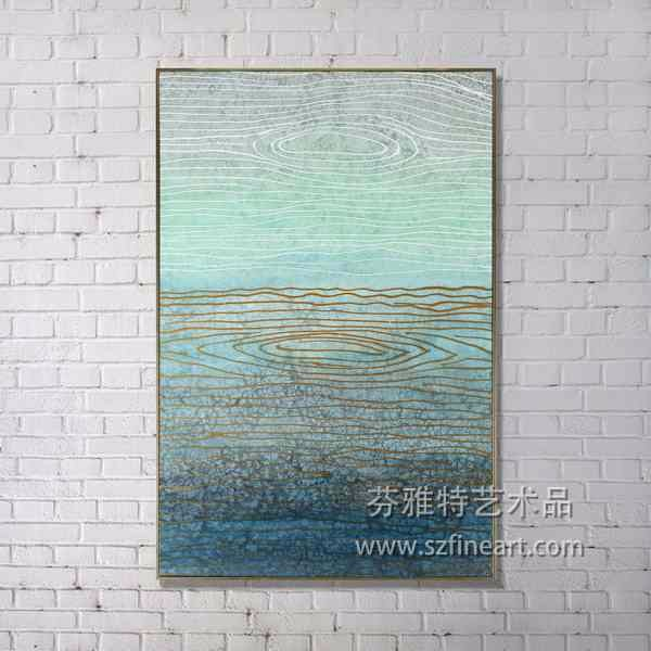 High Quality New Design Wall Art Decorative Handmade Painting