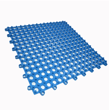 High quality and cheap price modular pvc waterproof drainage interlocking toilet floor tiles