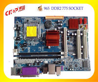combo motherboard direct supplier msi 965 Socket LGA 775
