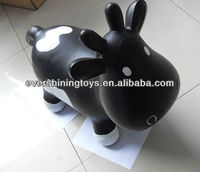 Inflatable promotion milk cow