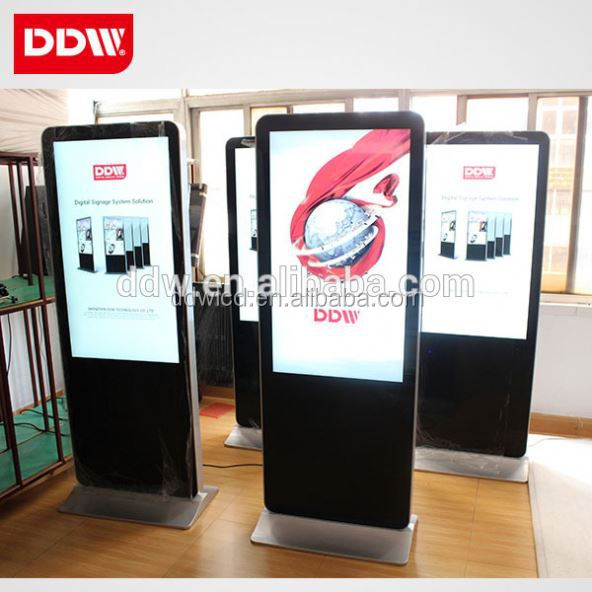 49 Inch Floor Standing Advertising Display, Digital Signage, Shopping Center Lcd Billing Machine, 3G/Single/Internet Version