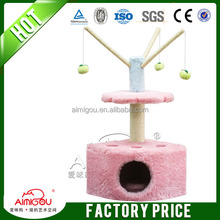 Direct supplier for cat scratcher tree with IQ training,cat tree,sisal cat scratcher