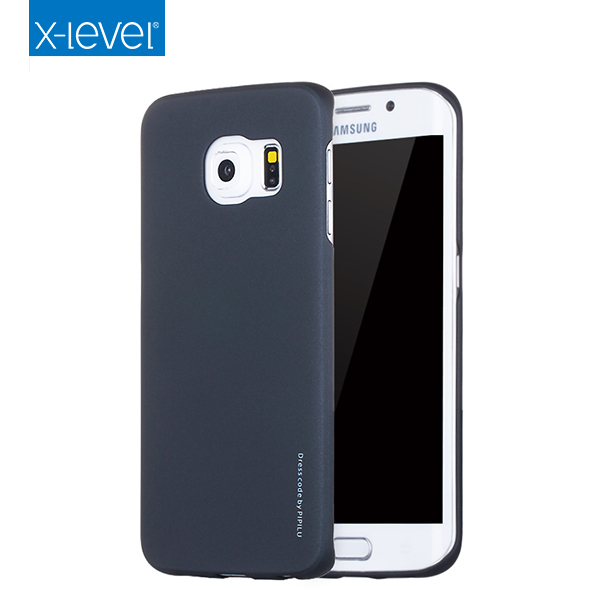 Seven-day's Top Sale Black PC Hard Plastic Phone Case For Samsung S6