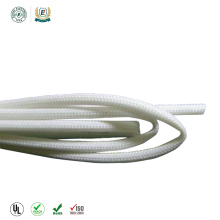 China factory 2.5KV 2753 silicone resin Fiberglass insulating Sleeving