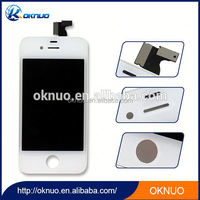 100% Guarantee Black White Original LCD Display + Touch Screen digitizer + Frame Assembly For iPhone 4 4G 4S LCD Complete