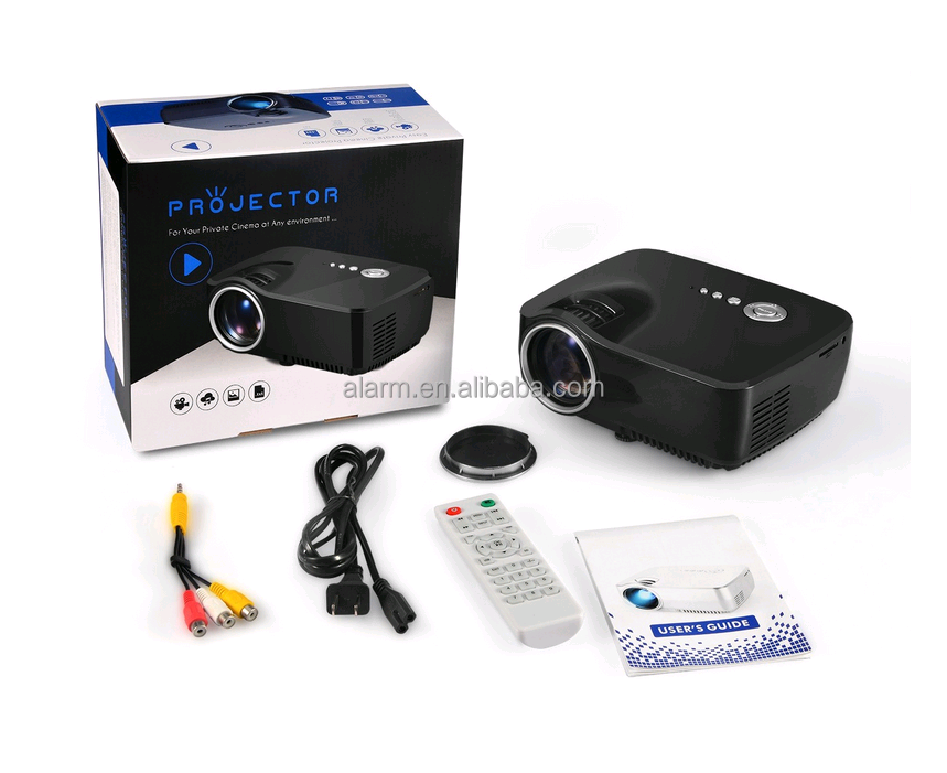 Beam LCD projector video GP70 1000 Lumens 3D projector