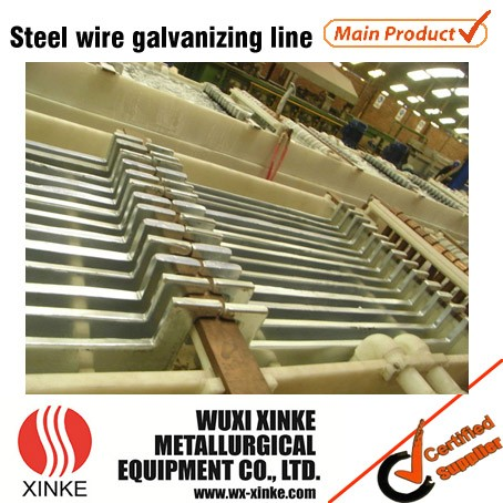 Automatic Steel Wire Electrolytic Zinc Plating Line