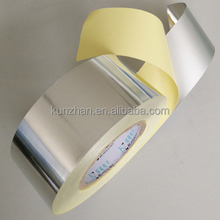New and hot selling double side heat resistant adhesive aluminum foil tape used for HVAC flexible duct pipe