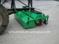 clean and clear road sweeper