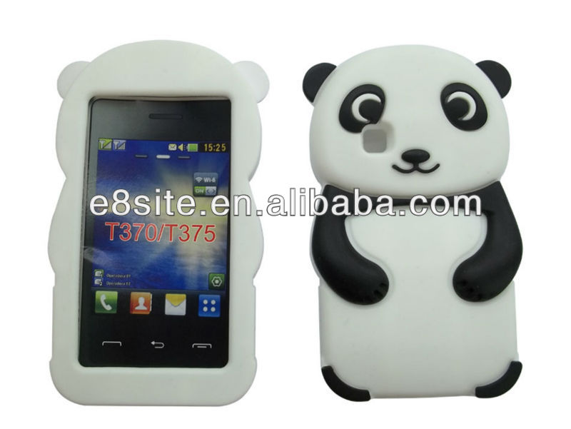 fantastic with 3d image cheap case for phone LG T370 T375 T395