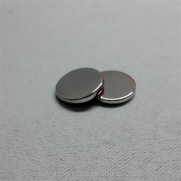 N42 high quality nickel plated neodymium magnet orkli D4 x 2.5mm