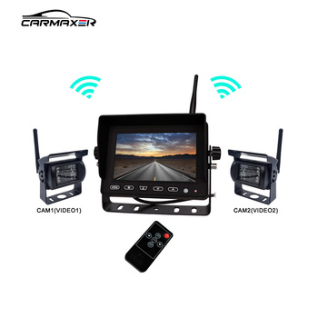 2018 New waterproof monitor rearview back up camera system backup
