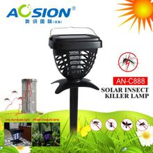 Aosion Free Sample Available Solar Power mosquito killer lamp for bug mosqutio fly insect