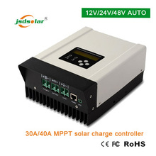 New energy resources product mppt solar charge controller 12v/24v 40a