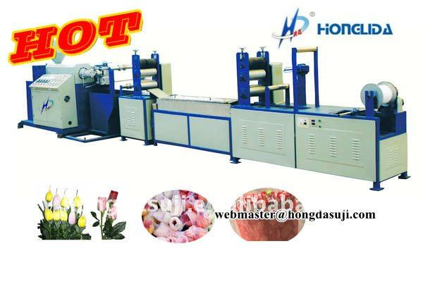 Flower Wrapping Net Making Machine