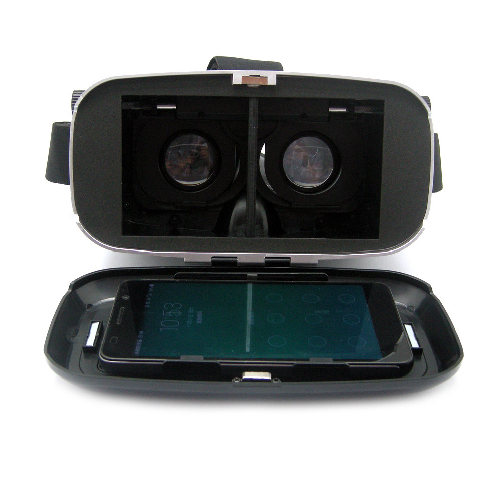 2016 Virtual Reality Glasses Vr Box 3d Glasses Headset For Google Cardboard Glasses For 4.7-6.0 Mobile For Iphone