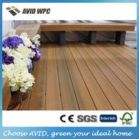 Different size and cheap wood plastic decking/decking board wpc for sale