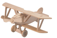 Hot Selling 3D DIY Wooden Toys, 3D Puzzle, Plane Model Albatross, Wholesale Available