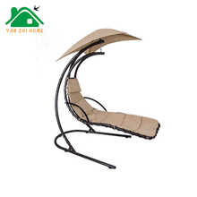 Buy Led Outdoor Swing Chair, Solar Canopy Swing Chair