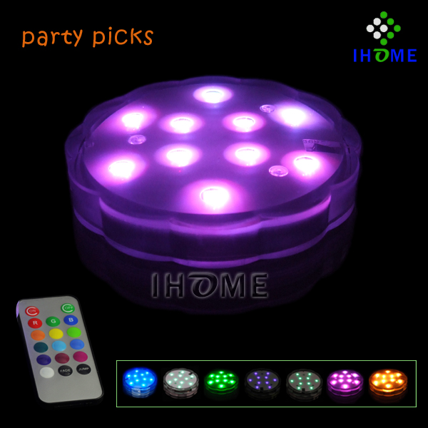 Christmas Remote Controlled Submersible Led Light,submersible lights for <strong>wedding</strong>/party/event decoration