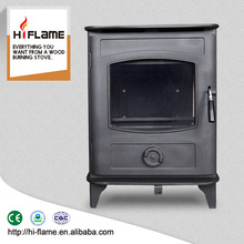 HiFlame Antique Steel Wood Stove Steel Plate Stove and Room Heater GR905