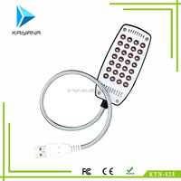 New Portable Usb Flashlight no switch 28 LED laptop usb lamp for Students' dormitory