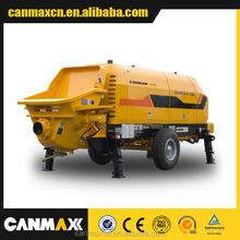 HOT HOT HOT FAMOUS BRAND ZOOMLION Canmax trailer mounted concrete pump HBT80.16.174RS0009