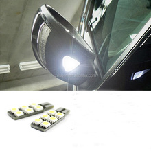 Original ECP LED Side Rearview Mirror Light Shining Lights Turn Signal Lamp for VW Passat CC Scirocco Tiguan 2pcs/set