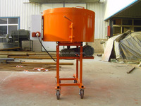 Vertical mortar mixer