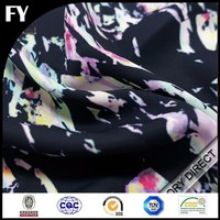 magic pattern printed cotton crepe fabric
