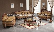 New model wood carved french alibaba sofa set