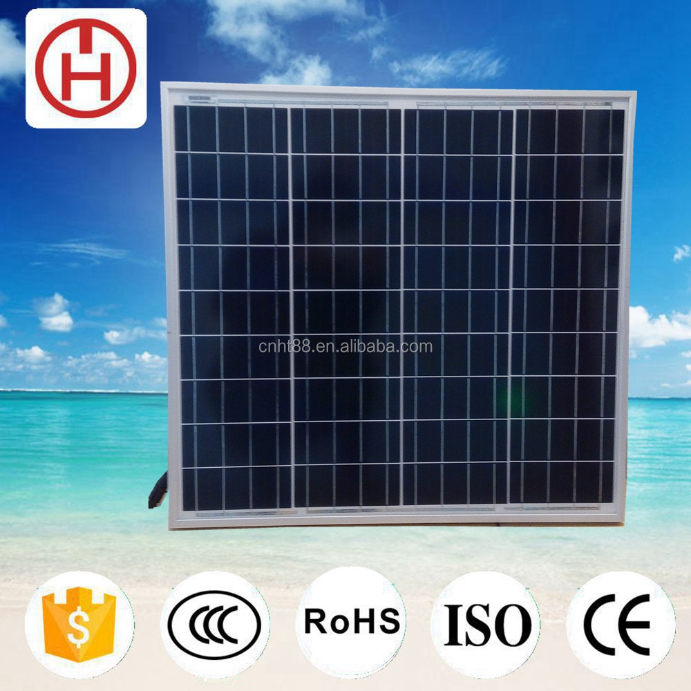 40w poly solar panel by solar panel manufacturers at factory price