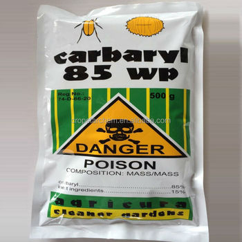 insecticide Carbaryl 85 wp for pest control