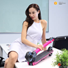 Wholesale portable aluminum alloy or carbon fiber 5 inches wheels electric foldable adults kick scooter