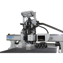 high level ATC 1325 working size wood cnc router machine