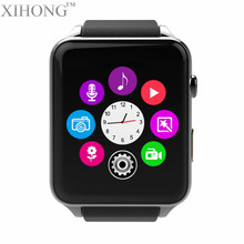 China manufacturer wholesale promotion gift phone call android mobile watch with camera