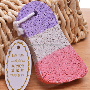 Bath Feet Care Pumice Scrub Feet Pumice Stoner Bath Colorful Exfoliator