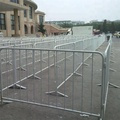high quality portable construction safety barriers