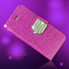 New arrival shiny powder luxury glitter rhinestone bling cell phone case cover for iphone 6