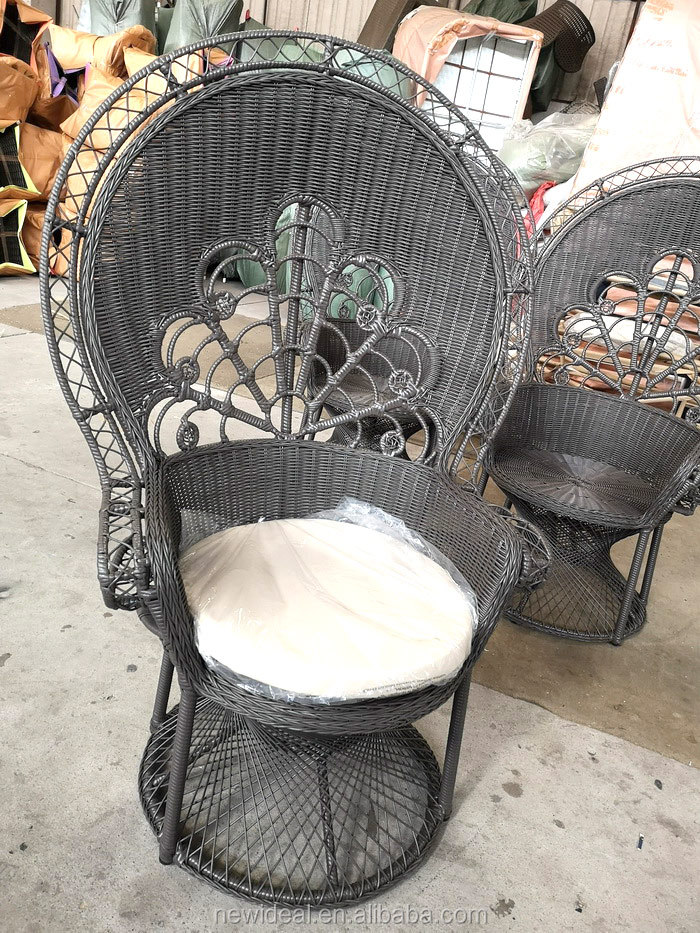 Peacock rattan chair (NF8008)