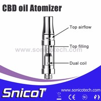 Newest Glass Tube Refillable Bulk E Cigarette Purchase With Low Price