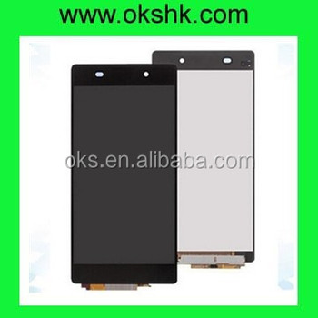 Qanlity LCD for sony Z1 l39h lcd screen with digitizer