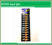 Suyida super fast glue 3 seconds quick dry Cyanoacrylate adhesive