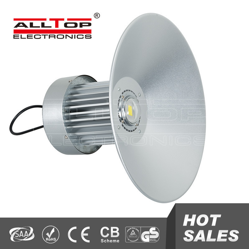 High brightness waterproof aluminum cob 70w led high bay