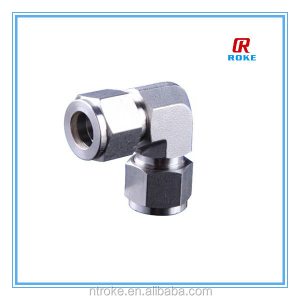 Hot sale stainless steel equal elbow fittings pipe unions