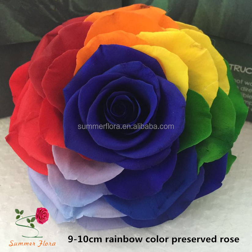 2017 hot sale eternal rose preserved <strong>flower</strong> for gift box type preserved <strong>flowers</strong>